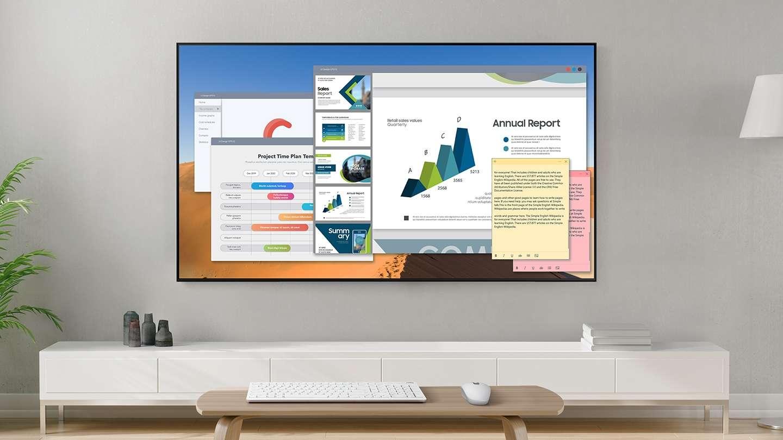 Smart Tivi Samsung 4K 43 inch UA43TU6900 - Tính Năng Remote Access Kiến Tạo Không Gian Làm Việc Tại Gia